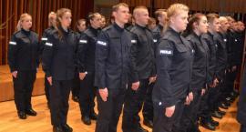 Nowi stróże prawa w ciechanowskiej i mazowieckiej policji [zdjęcia]