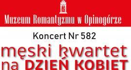 Koncert Niedzielny w Muzeum Romantyzmu w Opinogórze. Wystąpi Męski Kwartet