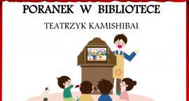 Poranek w ciechanowskiej bibliotece z teatrem Kamishibai