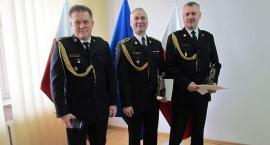 Trzech strażaków z PSP Ciechanów odeszło na emeryturę [zdjęcia]