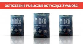 GIS alarmuje: Salmonella w mleku