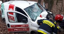Tragiczny wypadek w gminie Ojrzeń. Zginął mieszkaniec Ciechanowa [zdjęcia]