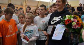 Anita Włodarczyk spotkała się z uczniami z Ciechanowa