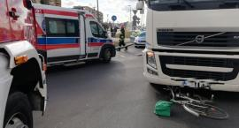 Policja prowadzi postępowanie ws. wypadku na rondzie