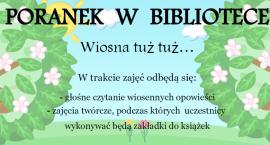 MBP w Ciechanowie zaprasza na kolejny Poranek w Bibliotece