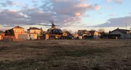 Nieszczęśliwy wypadek w Glinojecku. Wezwano LPR