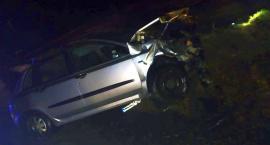 Wypadek w gminie Regimin. Ranna nastolatka [zdjęcia]