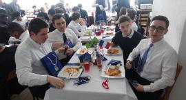 Goście z Francji w Zespole Szkół nr 2 w Ciechanowie [zdjęcia]