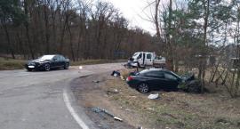 Trzy samochody zderzyły się na skrzyżowaniu [zdjęcia]