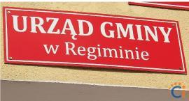Dwóch kandydatów na stanowisko sekretarza w gminie Regimin