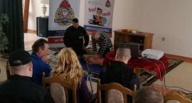 Strażacy w Domu Pomocy Społecznej [zdjęcia]