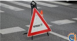 Z ostatniej chwili: Wypadek na rondzie w centrum Ciechanowa