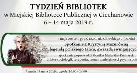 Tydzień Bibliotek - szereg wydarzeń w ciechanowskiej MBP