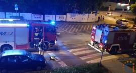 Wasze Info: Pożar w bloku. Mieszkańcy Ciechanowa uratowali swojego sąsiada