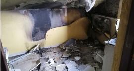 Pożar domu w gminie Ojrzeń