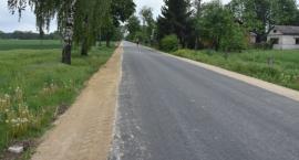 Przebudowana droga w gminie Gołymin-Ośrodek [zdjęcia]