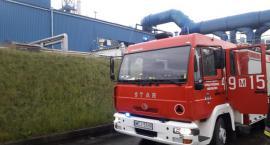 Straż pożarna w ciechanowskiej drukarni [zdjęcia]
