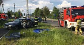 Kolejny wypadek na tym samym skrzyżowaniu w Ciechanowie [zdjęcia]