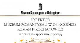 Spotkanie z poezją Stanisława Ledóchowskiego w Muzeum Romantyzmu