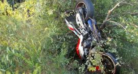 Motocyklista zginął w wypadku - ustalenia ciechanowskiej policji [zdjęcia]