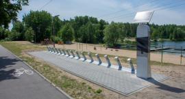 W Ciechanowie ruszył montaż stacji rowerów miejskich