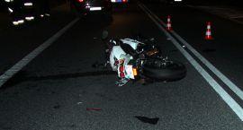 Motocyklista ranny w wypadku