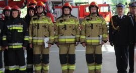 Nowi strażacy w ciechanowskiej straży pożarnej