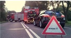 Wypadek na drodze Ciechanów-Ojrzeń. Jedna osoba ranna