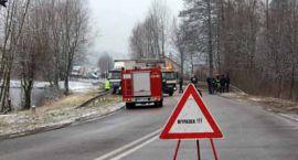 Wypadek w Pawłowie - Zima zaskoczyła... kierowców - Aktualizacja 18:30