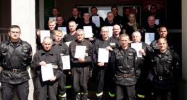 Strażacy z OSP szkolili się w Ciechanowie