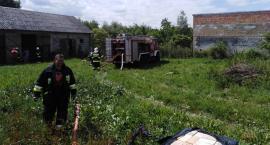 Płonęła stodoła w gminie Grudusk