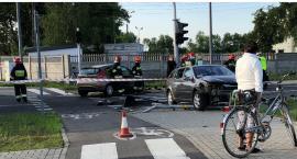 Zderzenie osobówek na ul. Leśnej. Jeden z kierowców był pijany