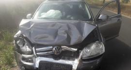 Pijany kierowca doprowadził do zderzenia osobówek [zdjęcia]