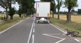 10-latka na rowerze uderzyła w ciężarówkę
