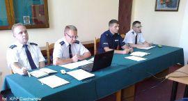 Ciechanowska policja analizuje osiągnięte wyniki
