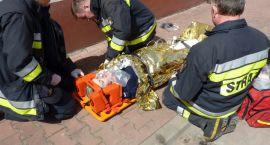 Alarm pożarowy w płońskiej Komendzie Policji