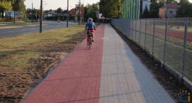 W Ciechanowie powstał nowy ciąg pieszo-rowerowy [zdjęcia]