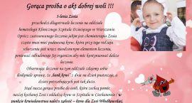 PILNE!!! Potrzebna krew dla chorej na białaczkę Zosi Włodkowskiej!!!