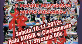 II Turniej Karate Kyokushin o Puchar Prezydenta Miasta Ciechanów