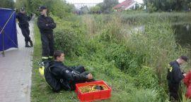 Utonięcie 59 - letniego mężczyzny w zbiorniku wodnym przy ul. Gostkowskiej
