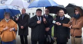 Koalicja Obywatelska w Ciechanowie o dramatycznej sytuacji w służbie zdrowia [wideo]