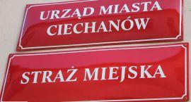 Straż miejska wlepia mieszkańcom Ciechanowa ... żółte kartki