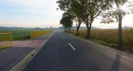 Do Opinogóry dojedziemy zmodernizowaną drogą i ścieżką rowerową. Inwestycja na finiszu [zdjęcia]