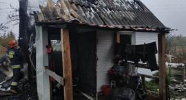 W gminie Ojrzeń spłonął domek [zdjęcia]