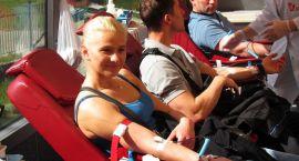 Ciechanowianie dołączyli do strażaków. Wspólnie oddali ponad 20 litrów krwi (zdjęcia)