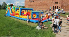 Najmłodsi ciechanowianie bawili się podczas imprezy na zamku (zdjęcia)
