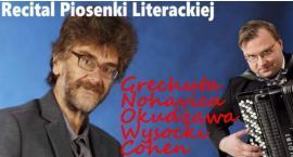 Recital Piosenki Literackiej w wykonaniu Wojtka Gęsickiego i Rafała Grząki