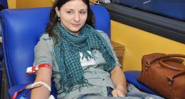 Zbiórka krwi dla Mariusza  – Ciechanowianie stanęli na wysokości zadania