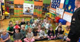 Strażacka wizyta u przedszkolaków z Ciechanowa [zdjęcia]