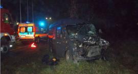 Policyjne ustalenia ws. wypadku przy stacji paliw w Ciechanowie